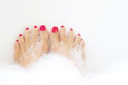 「泡風呂」が普通の入浴方法よりも体を温めてくれる!